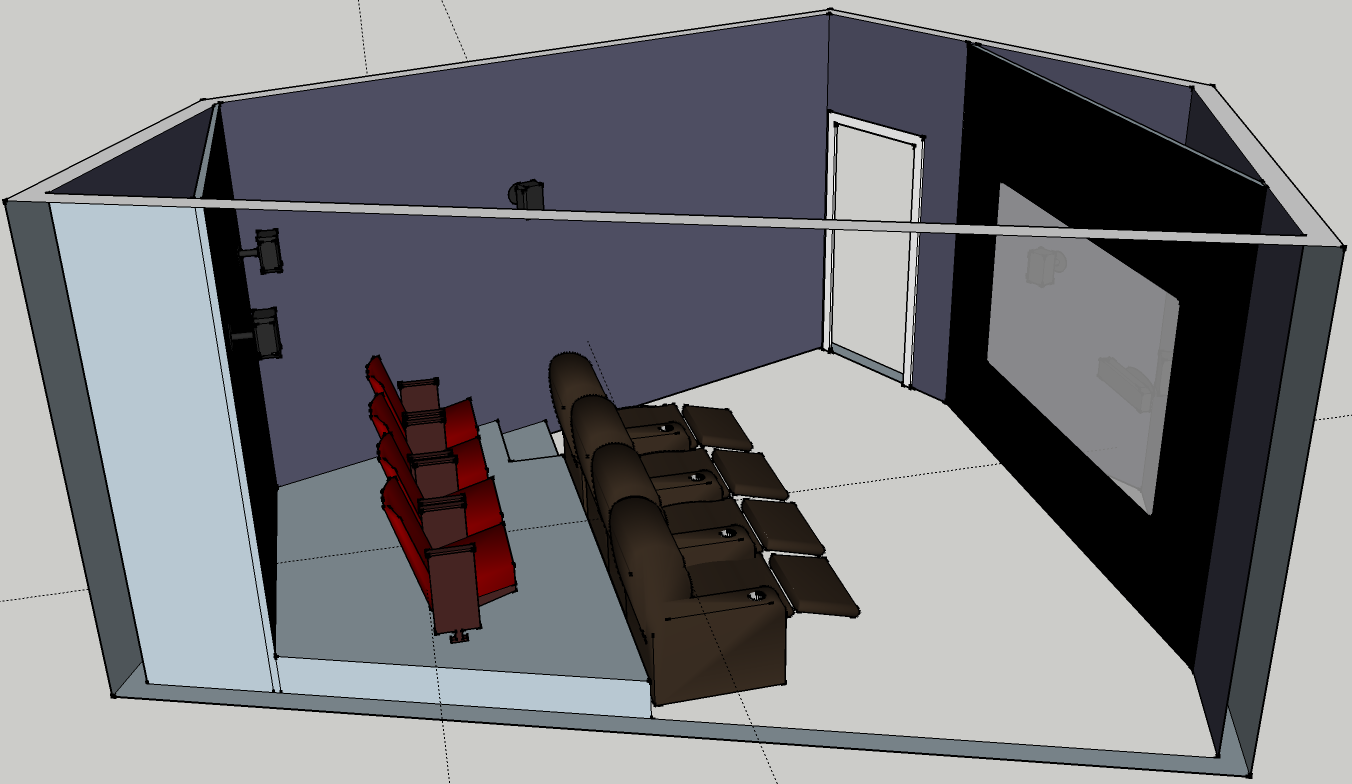 Pentagon Shaped Theater Build Very Strange Room Design